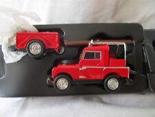 Matchbox Models of Yesteryear 1952 Land Rover Aux. & Trailer  YFE-02-M