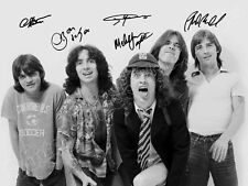 AC/DC  Acdc -  Angus Young - print signed photo - foto con autografo stampato