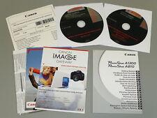 Canon PowerShot a1300 a810 manuale d'uso Istruzioni User Manual KIT NUOVO