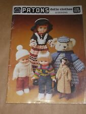 Patons Doll Clothes C38 - 23 Designs