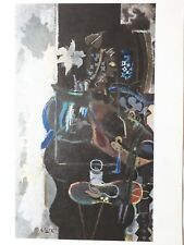 "Georges Braque, ""Le Chaudron"",  Plate Signed, Reference, 1964"
