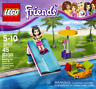 Lego 30401 - Polybag Friends Emma Toboggan piscine Pool Foam Slide - Neuf New
