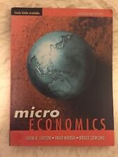 Microeconomics: Australian Edition by Cowling, Moosa, Taylor (Paperback, 1999)