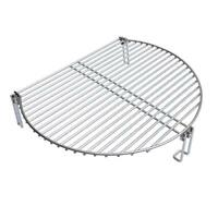 Stainless Steel Grill Expander Cooking Grate Fits for Charcoal Kettle Grills