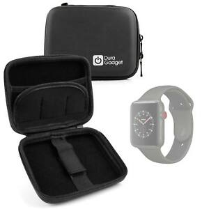 Hardwearing Black Storage Case With Soft Lining For Use W/ Apple Watch Series 3