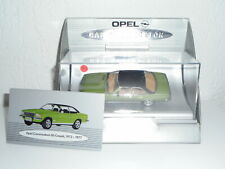 """Minichamps 1/43 0PEL Commodore GS Coupé 197+ Box """" Opel """" N°433 of 450 Sold"""