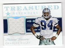 CHARLES HALEY NFL 2015 NATIONAL TREASURES  DEFENDERS MATERIALS #/49 (COWBOYS)
