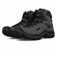 Keen Mens Galleo Mid Waterproof Walking Boots Grey Sports Outdoors Breathable