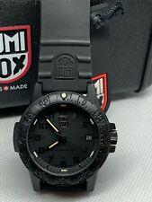 Luminox Sea Turtle 0300 Blackout Series Leatherback Carbon Watch