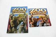 Zoo Tycoon: Complete Collection (PC, 2003) w/ Manual