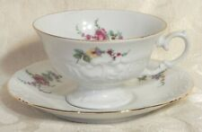 Vintage Walbrzych Poland Tea Cup and Saucer Set