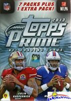 2013 Topps Prime Football Factory Sealed Blaster Box- Look for Autographs!