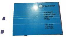 Piaggio Vespa Px Manuale per Stazioni di Servizio NOS