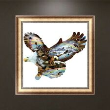 DIY Eagle 5D Diamond Painting Embroidery Cross Stitch Home Office Craft Decor