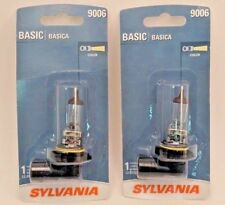 2-Pack Sylvania 9006 Headlight Halogen Lamp Bulb Base Basic 55W - SHIPS FREE