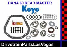 Dana 60 Master Bearing Rebuild Overhaul Kit Koyo Oe Dodge Ford GM Chevy Complete