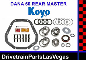 Dana 60 Master Bearing Rebuild Overhaul Kit Koyo Oe Dodge Ford GM Chevy Complete