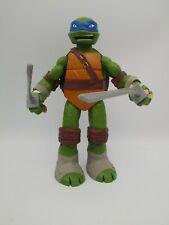 TMNT Ninja Turtles Action Figure Leonardo Toy Viacom 2012 10 inch #G5259 Blue