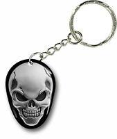 Porte clés clefs keychain voiture moto biker motard croix malte tete de mort r3