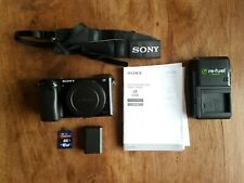 Sony A6000 APS-C Camera Black - Body and Battery - Really Clean - Alpha Digital