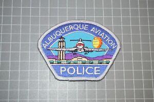 Albuquerque New Mexico Police Aviation Patch (Small) (B17-A7)