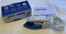Black & Decker X50 Folding Travel Iron With Steam 120V/240V New in Open Box
