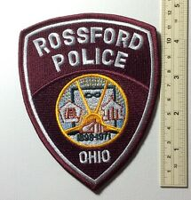 US Rossford Ohio Police Patch