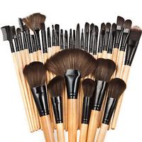 32pcs Multi-functional Soft Cosmetic Eyebrow EyeShadow Makeup Brush Tool Set
