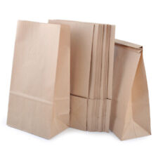 20pcs Vintage Brown Kraft Paper Bags Gift Food Bread Candy Sweet Wedding Party~