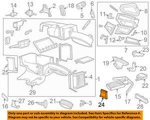 FORD OEM HVAC-Motor Assembly XF1Z19E616CA