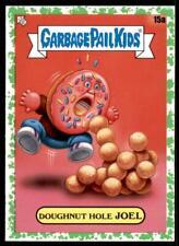 2021 Garbage Pail Kids Food Fight Base Booger Green #15a DOUGHNUT HOLE JOEL