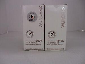 2 WUNDER2 WUNDERBROW 1-STEP BROW GEL - AUBURN -  HN 3518