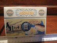 VINTAGE 1983 RECIPE METAL BOX CHAS A PILLSBURY CO Flour Advertising