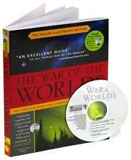 WAR OF THE WORLDS ~ ILLUS BOOK and CD ~ ORIGINAL 1939 BROADCAST ~ HG WELLS ORSON