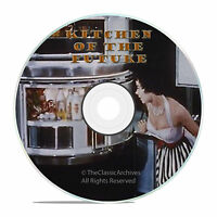 Life and Kitchen of the Future, Futurism Films from the 60's DVD -J37