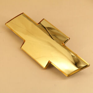 for 99-02 Chevrolet Silverado,01-06 Tahoe Gold Front Grill Bowtie Emblem Badage