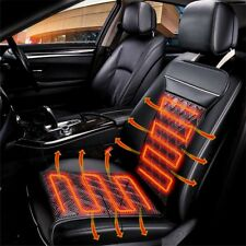 Carbon Fiber Warm Electric Heating Car Seats Cushion Cover Pad Winter Heated 12V