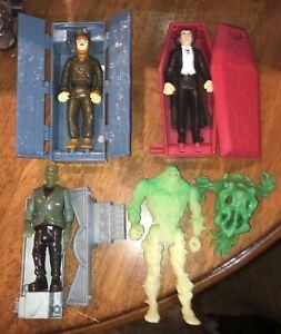 Vintage Kenner Swamp Thing & Monsters Frankenstein Dracula Wolfman Vintage LOT