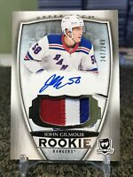 2018-19 The Cup #82 John Gilmour True 3 Color Rookie RC Patch Auto RPA SP /249!!