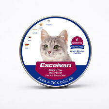 Flea Tick Collar Pet Cat Kitten Adjustable Pest Controller 6 Month Protection US