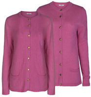 Marks & Spencer Womens Lambswool Luxury Knitted Cardigan New Soft M&S Cardie Top