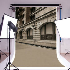 European Style Street View Photography Backgrounds 5x7ft Vinyl Photo Backdrops