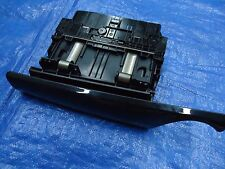 2007-2015 MINI COOPER PIANO BLACK GLOVE LETTER CD CHANGER CARRIER BOX TRIM OEM