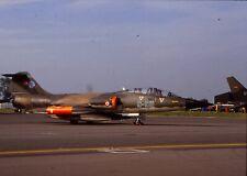 Original colour slide TF-104G Starfighter 65-5911/9-911 of 192 Filo Turkish AF