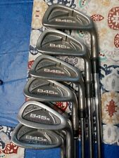Tommy Armour 845s Silver Scot Irons - 5- PW  KBS TOUR Steel Shafts Golf pride