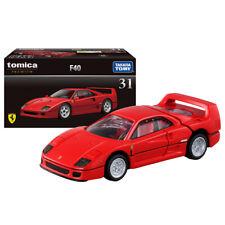 TOMICA PREMIUM 31 Ferrari F40 ( RED ) 1/62 TOMY NEW DIECAST CAR