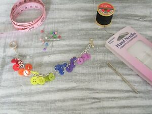 Colourful Rainbow Button Bracelet, Choice of Metals, made by English Gems, Boxed