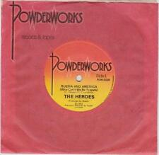 THE HEROES (OZ 45 '84) RUSSIA AND AMERICA (WHY CAN'T WE BE FRIENDS)- POWDERWORKS