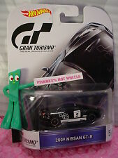 Gran Turismo #5/5 2009 NISSAN GT-R☆Black ;Real Riders☆2016 Hot Wheels Retro