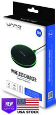 Lot Of 40 Unno Tekno Wireless Slim Fast Charger 10W Qi Compatible Retail Box Usa